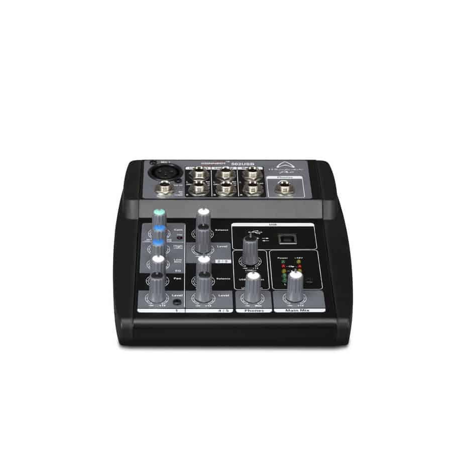 Wharfedale Pro Connect 502USB lydmikser sett forfra