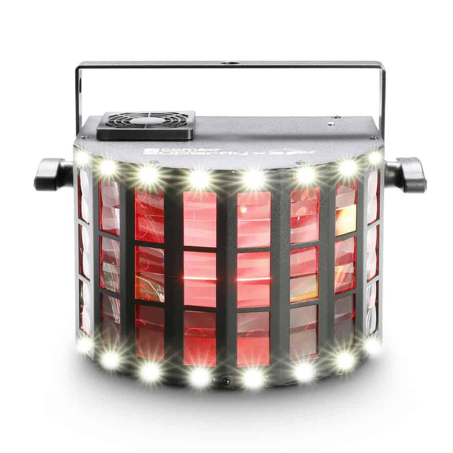 Cameo Superfly XS LED lyseffekt sett fra siden