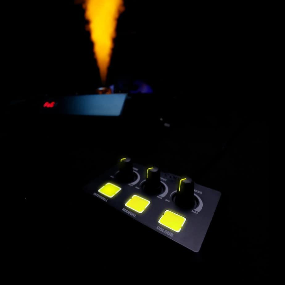 Cameo Steam Wizard 1000 røykmaskin fjernkontroll