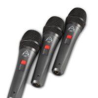 Wharfedale Pro DM5S vokalmikrofoner sett