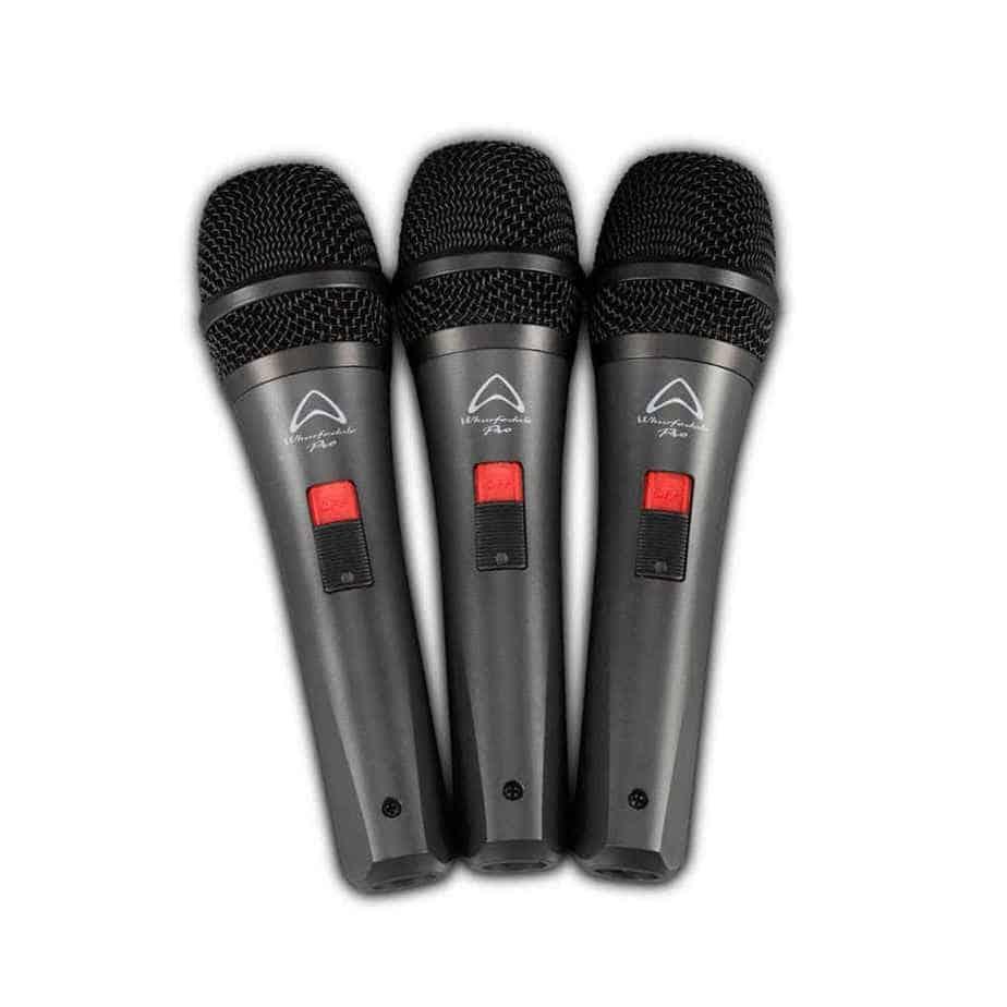 Wharfedale Pro DM5S mikrofonsett samlet