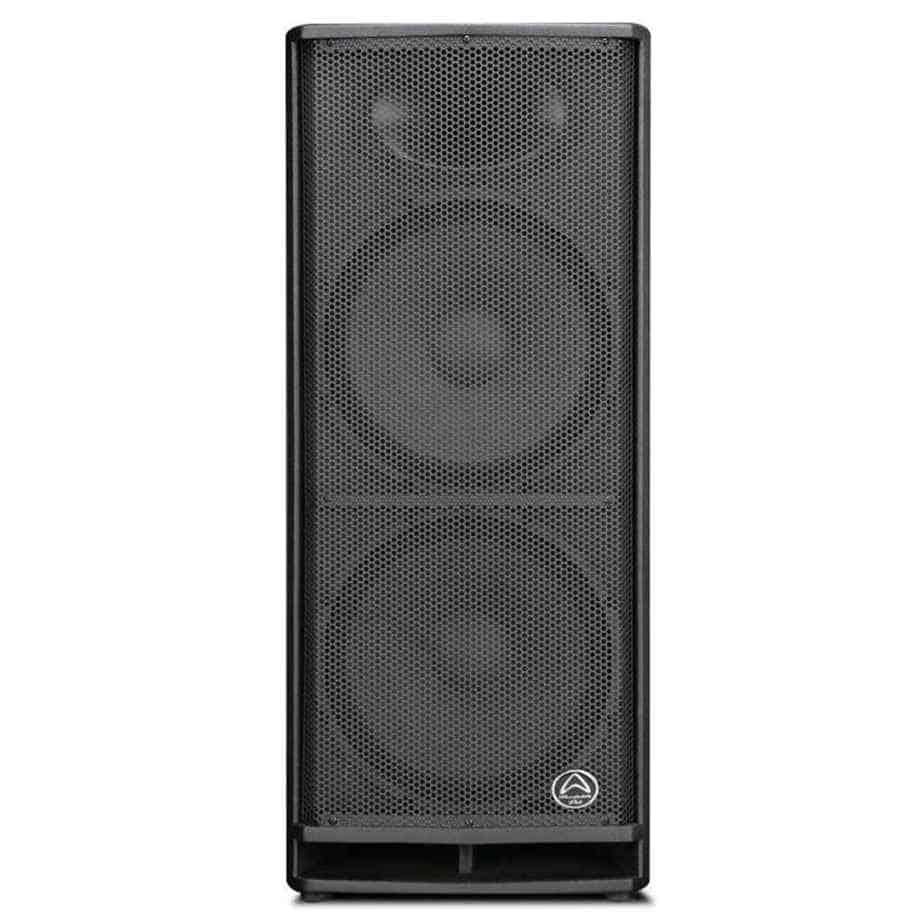 Wharfedale Pro DVP-X215A aktiv høyttaler sett forfra