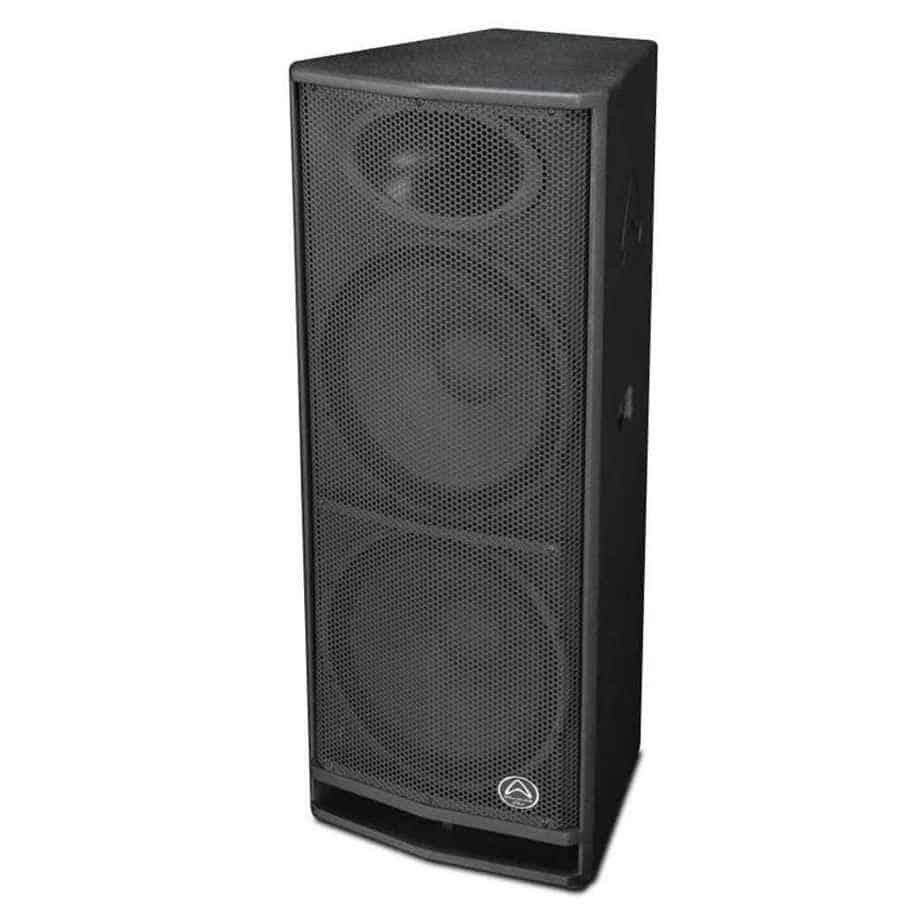 Wharfedale Pro DVP-X215A aktiv høyttaler sett fra siden