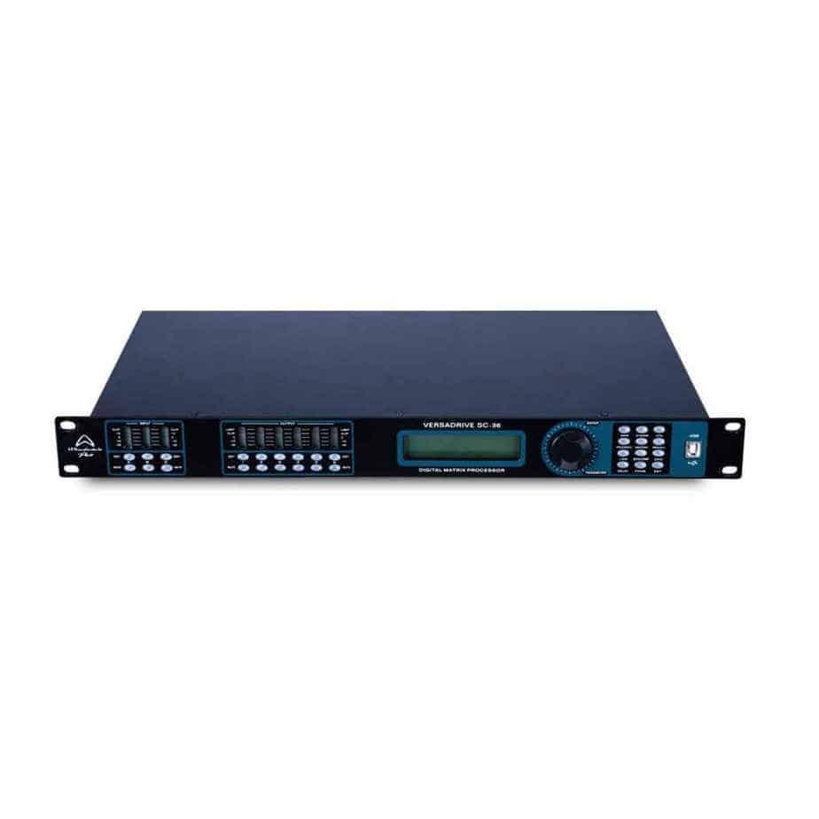 Wharfedale Pro Versadrive SC-36 høyttalerprosessor sett forfra