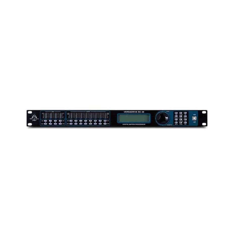 Wharfedale Pro Versadrive SC-48 høyttalerprosessor sett forfra