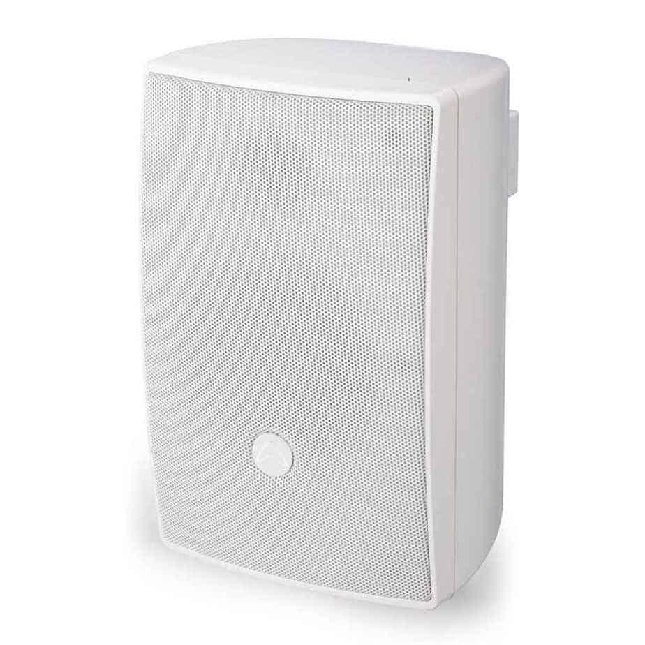 Wharfedale Pro i8 100v høyttaler hvit sett fra siden