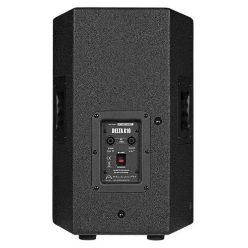 Wharfedale Pro Delta X10 passiv høyttaler sort sett bakfra