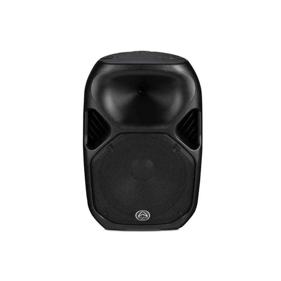 Wharfedale Pro Titan-AX12 aktiv høyttaler sort sett forfra