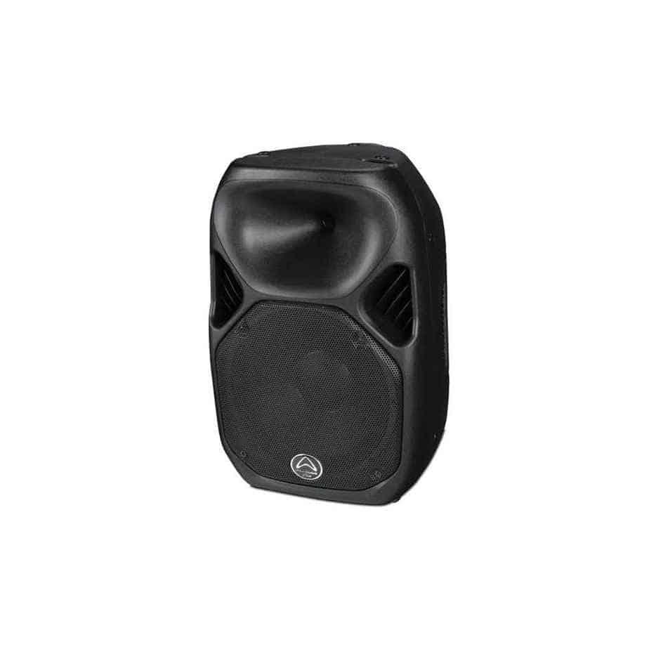 Wharfedale Pro Titan AX15 aktiv høyttaler sort sett fra siden