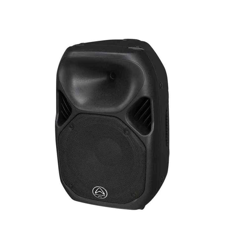 Wharfedale Pro Titan-X12 passiv høyttaler sort sett fra siden