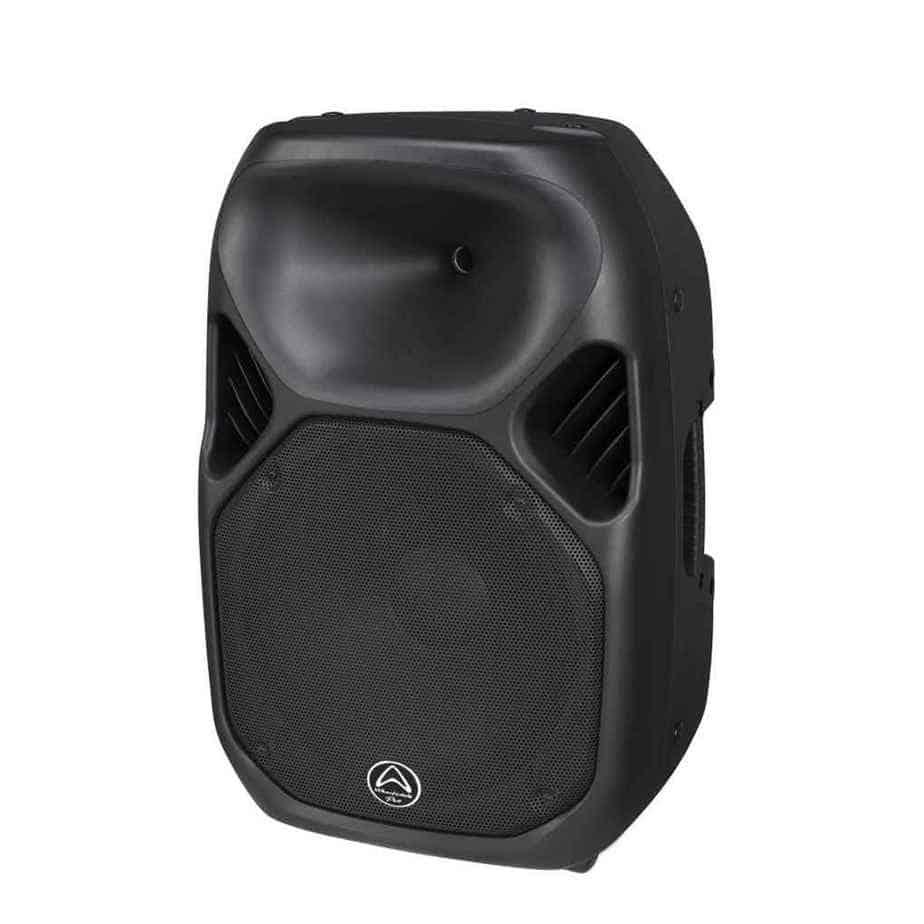 Wharfedale Pro Titan-X15 passiv høyttaler sort sett fra siden