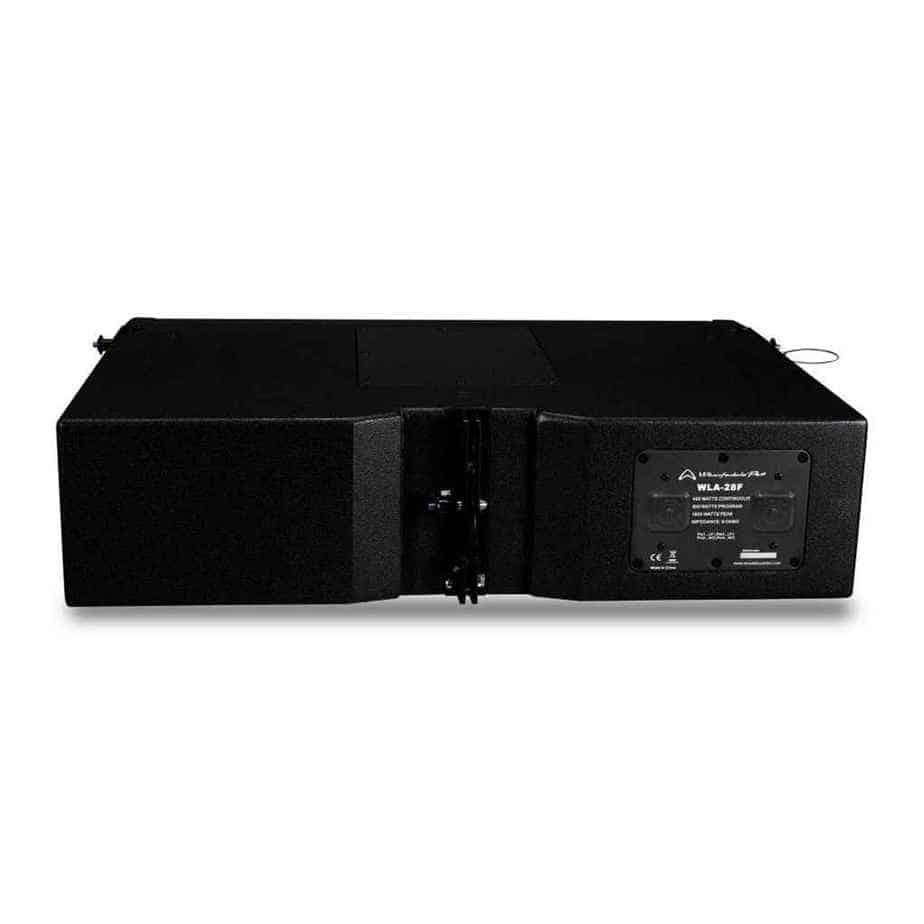 Wharfedale Pro WLA-28F IPX6 line array høyttaler  sett bakfra
