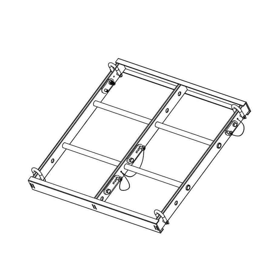 Wharfedale Pro WLA-28 Common Fly Frame