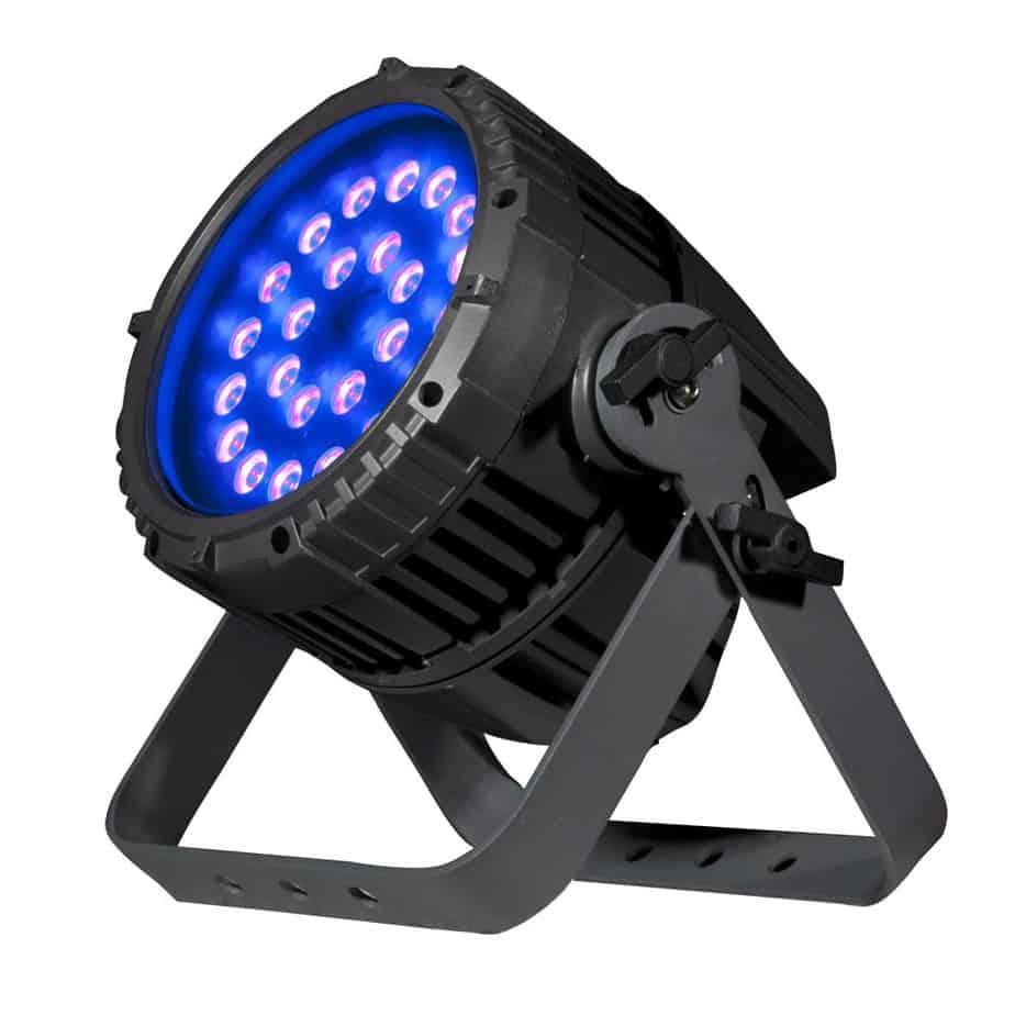 ADJ UV72IP LED PAR lampe sett forfra