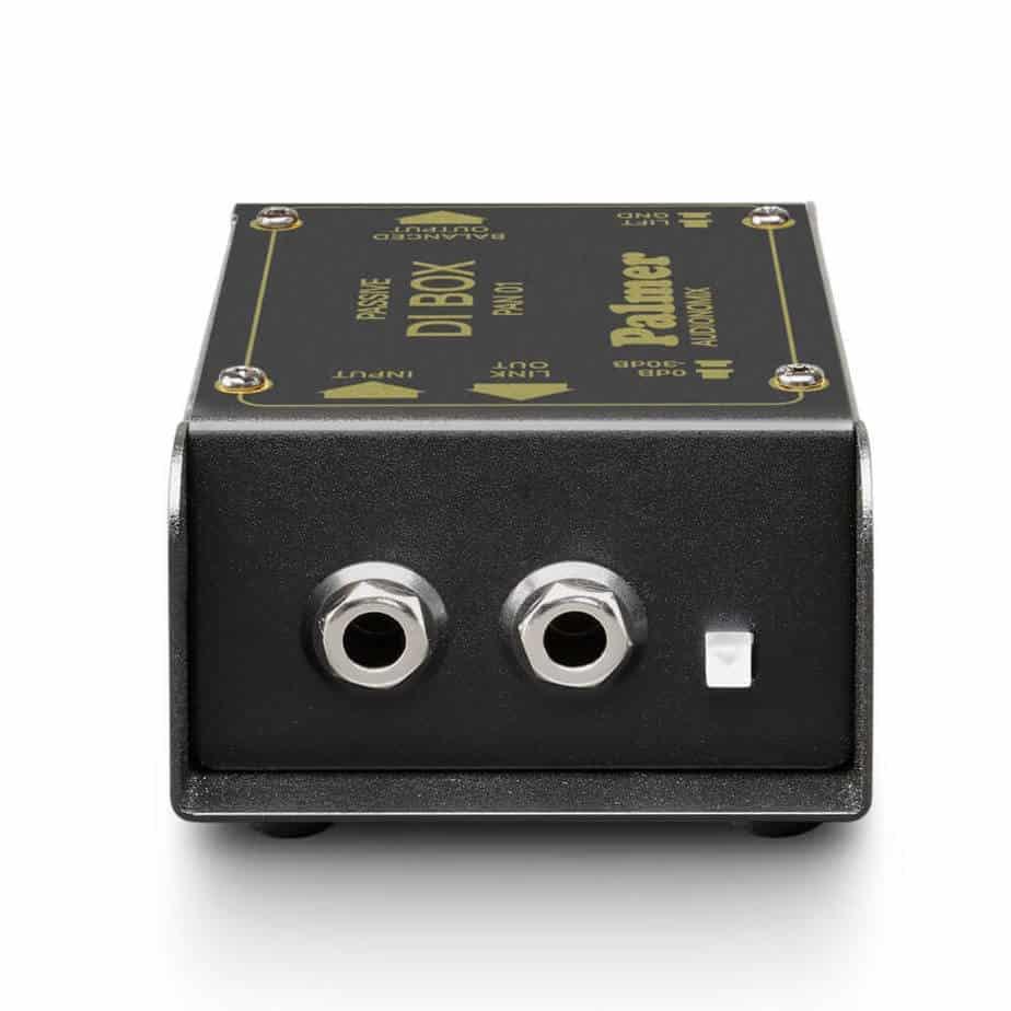 Palmer PAN 01 passiv DI boks 1 kanal sett forfra