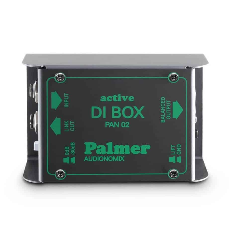 Palmer PAN 02 aktiv DI boks 1 kanal sett ovenfra