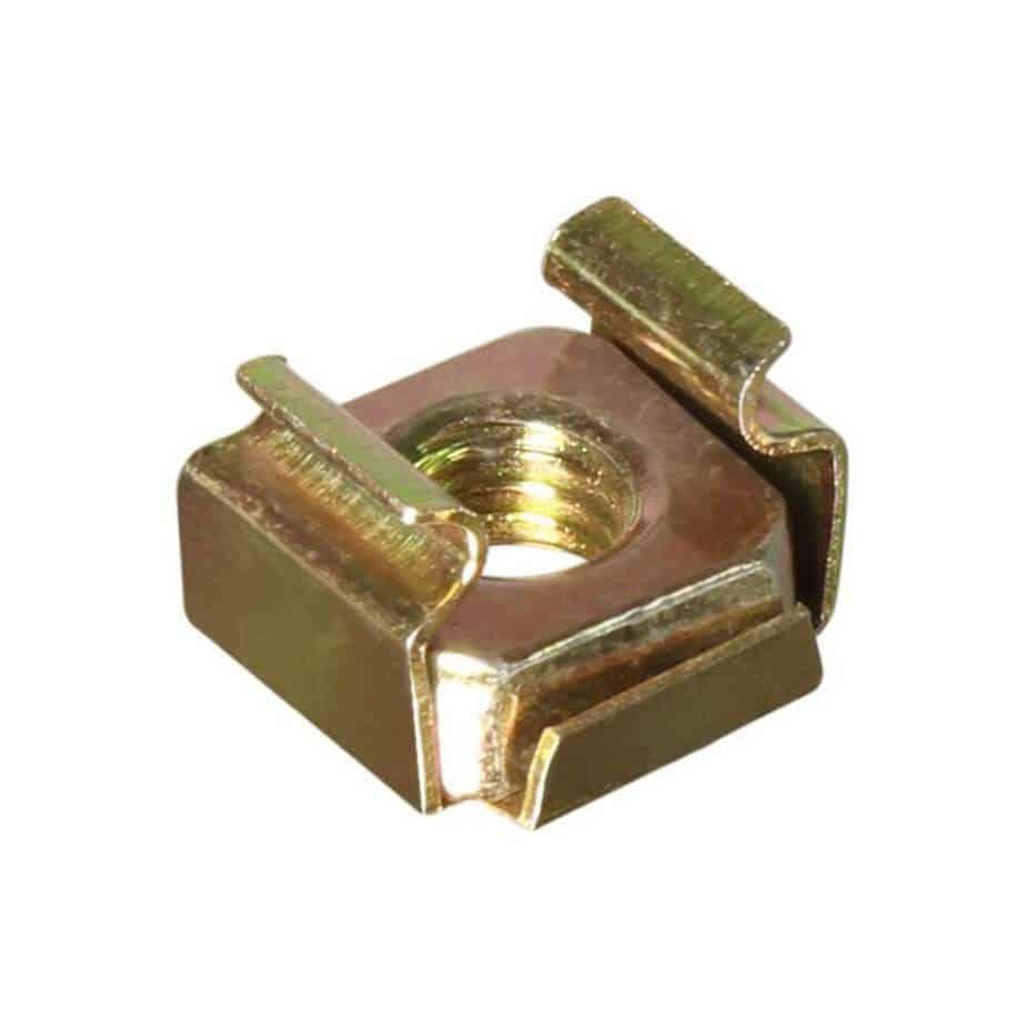 Adam Hall 5651 M6 rackmutter for 1,5mm cage sett bakfra