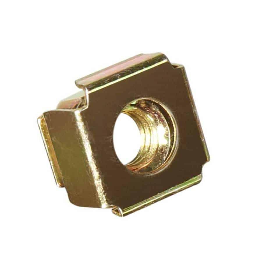 Adam Hall 5651 M6 rackmutter for 1,5mm cage sett forfra