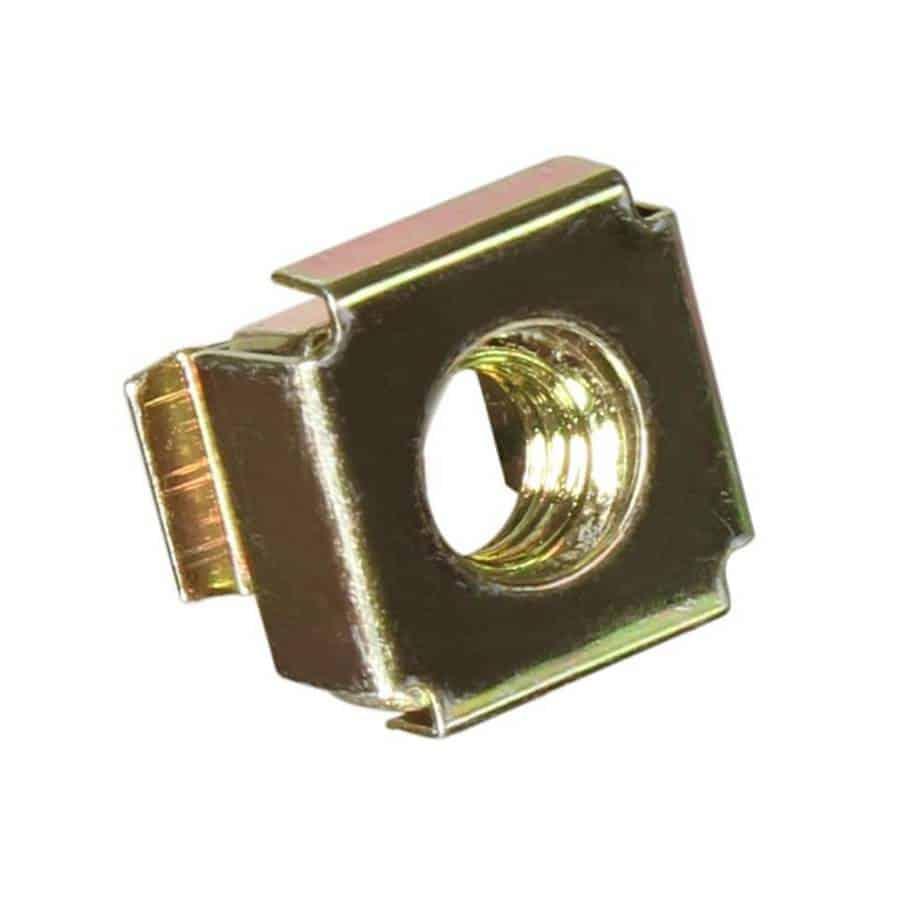 Adam Hall 5652 M6 rackmutter for 3mm cage sett forfra