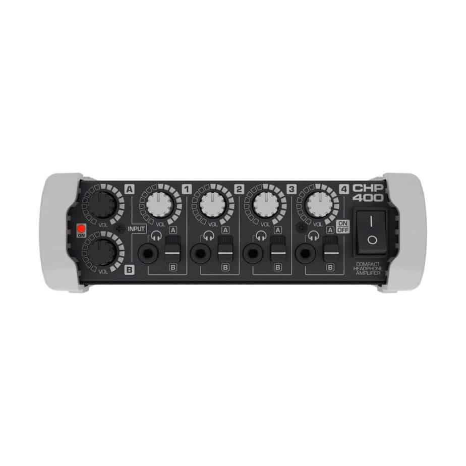 Hill Audio CHP400 hodetelefonforsterker sett forfra