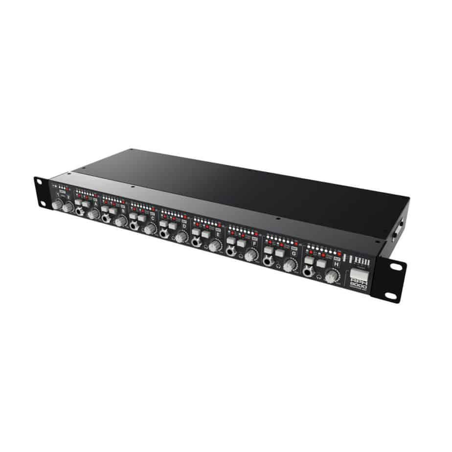 Hill Audio RHP8000 hodetelefonforsterker sett fra siden