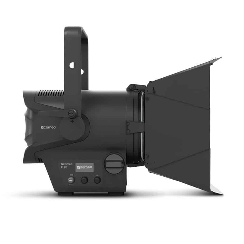 Cameo TS F1 FC RGBW Fresnel Pro Sett Fra Siden