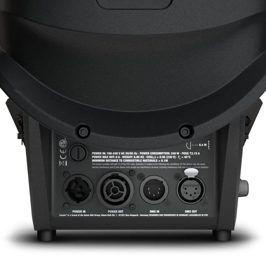 Cameo TS F2 FC RGBW Fresnel Pro Sett Bakfra