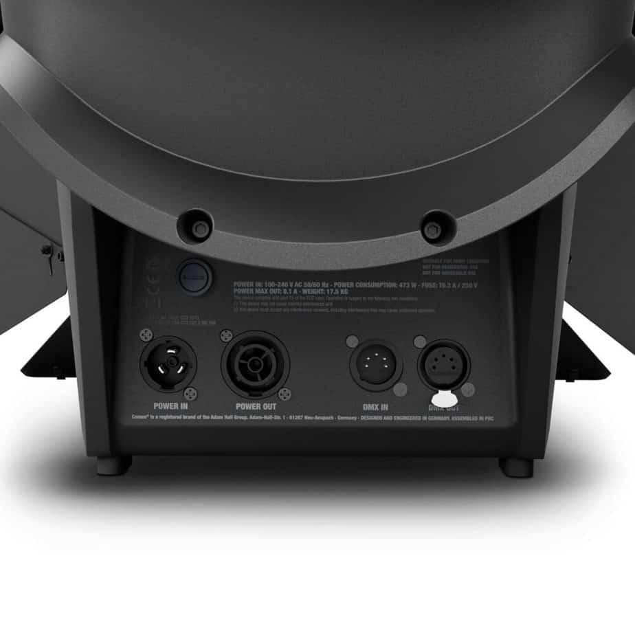 Cameo TS F4 FC RGBW Fresnel Pro Sett Bakfra