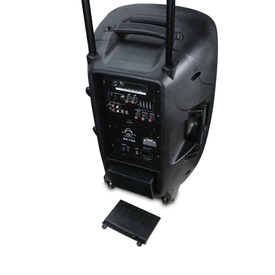 Wharfedale Pro EZ Hoyttaler Med Mikrofon Batteri 1