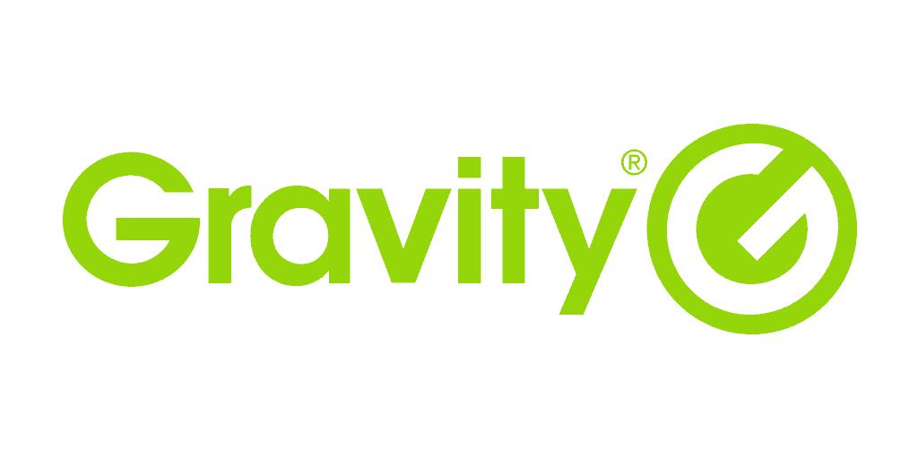 Logo for merkevaren Gravity
