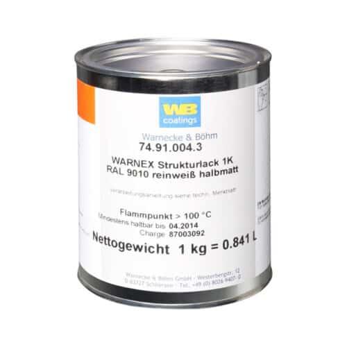 Warnex Høyttalermaling Hvit 1 Kg